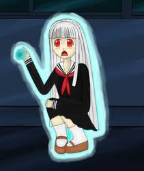 Mahou Sensei Negima - Am I a.... ghost?
