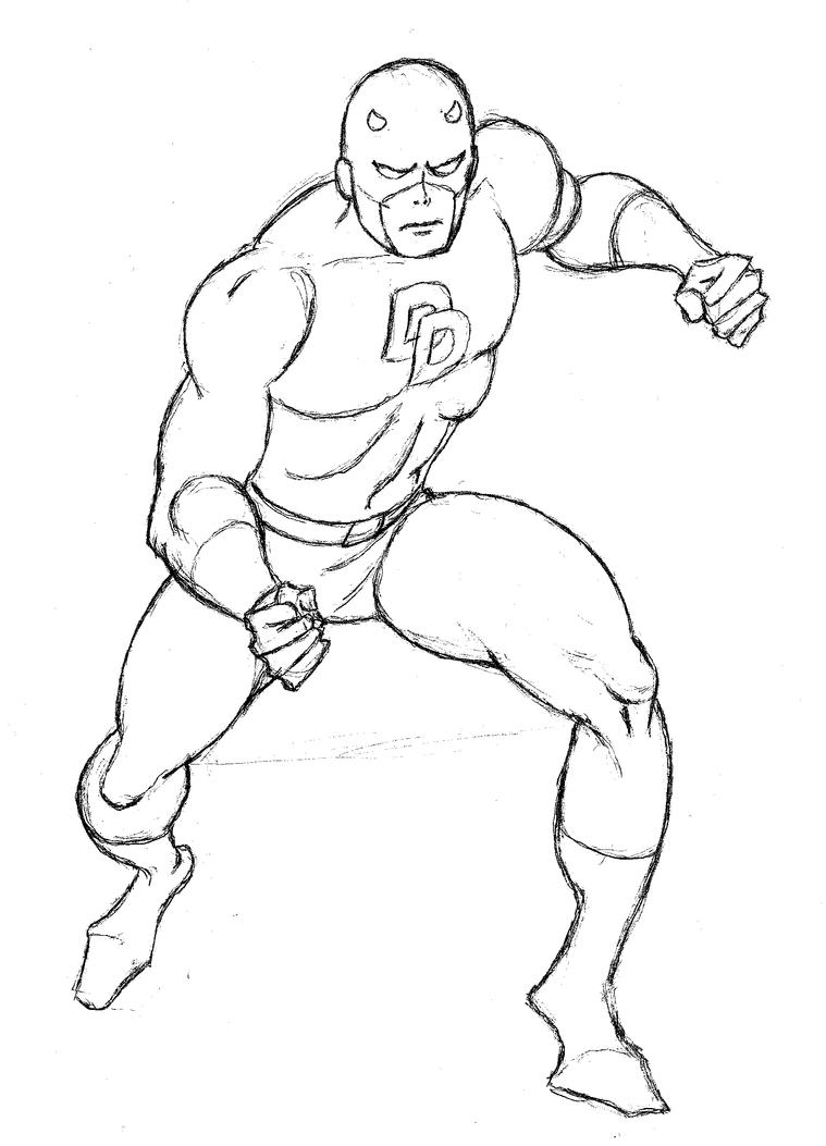 daredevil coloring pages - photo#22