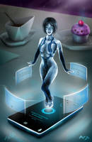 Cortana by Roberto-Miranda