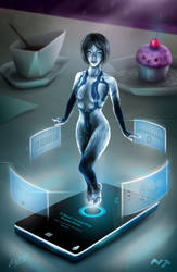 Cortana by Roberto-Miranda