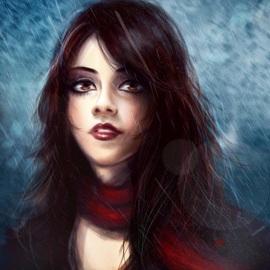 Gabrielle Rain by Roberto-Miranda