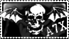 Avenged Sevenfold Stamp by RisingDragon54