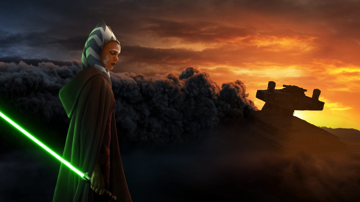 Great Wallpaper Harry Potter Star Wars - star_wars___whispers_of_the_past__ahsoka_tano__by_thetechromancer-d7z38st  Best Photo Reference_746646.png