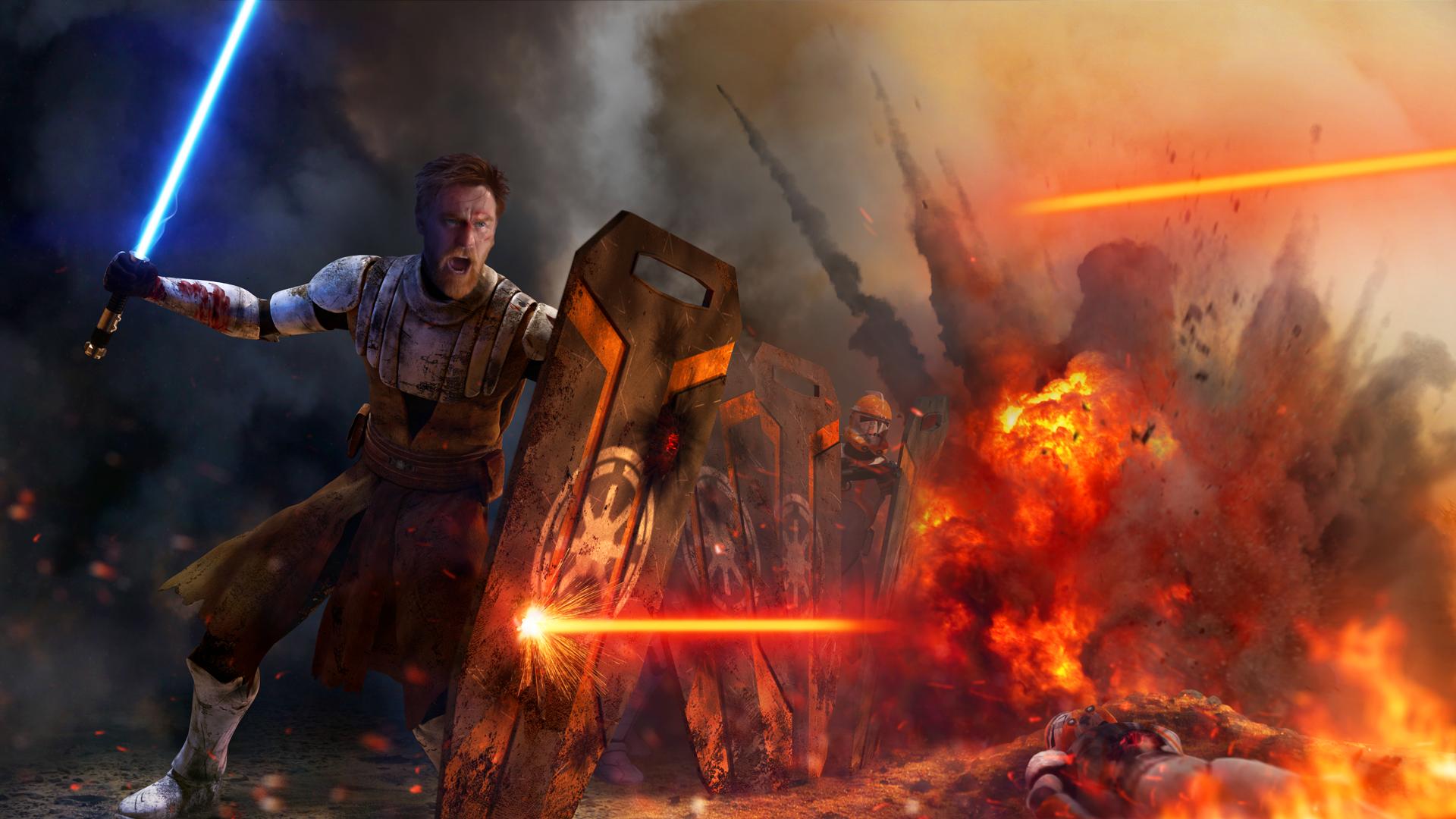 Star Wars Peacekeeper Obi Wan Kenobi By Thetechromancer