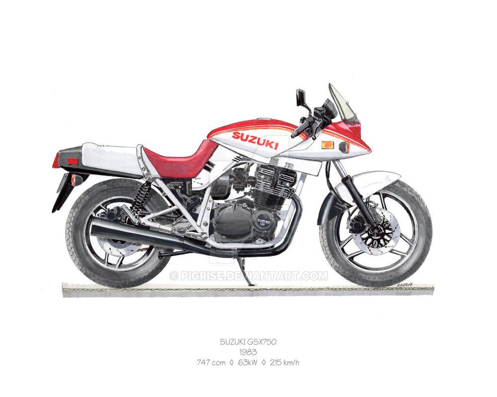 suzuki gsx 750sd katana 1983 by pigrise on deviantart