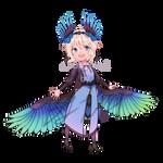 Adoptable bird girl