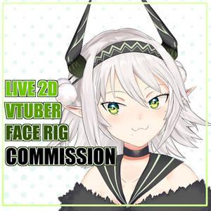 Live 2d / Vtuber Commission [OPEN]  Art + Rigging