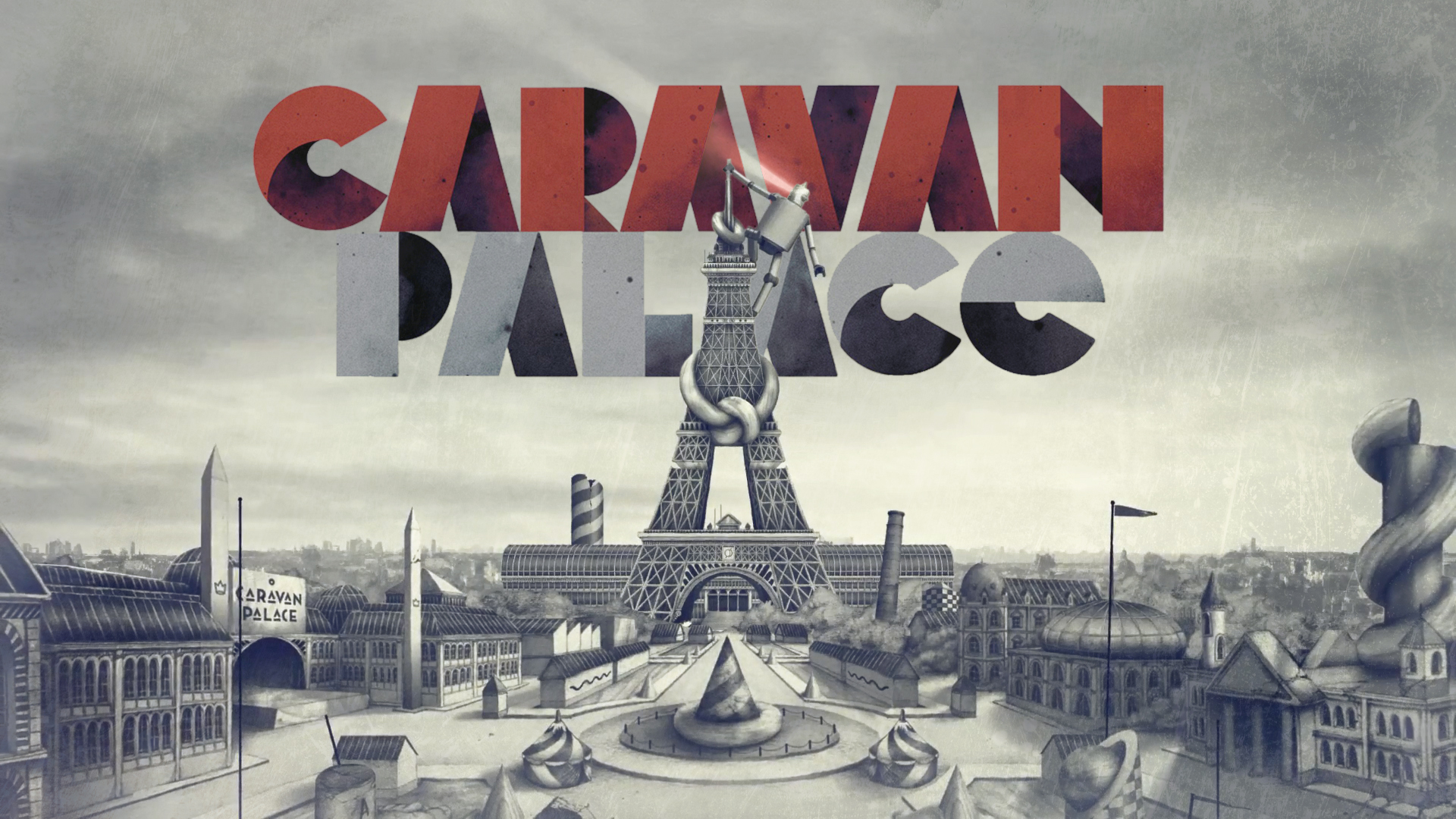 Caravan Palace by NathanTheMighty on DeviantArt