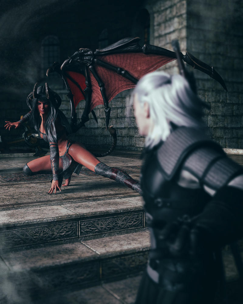 want_to_play_with_me_witcher__by_kayleys