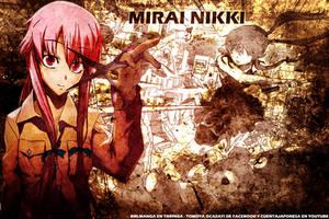 Mirai Nikki Wallpaper by cuentajaponesa