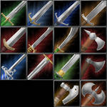 Warcraft 3 Weapon Icons