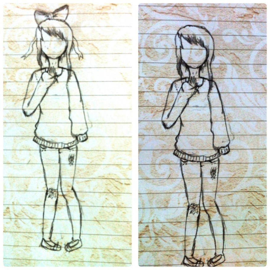 Baggy Sweaters And Bows By OOEmeryOo On DeviantArt