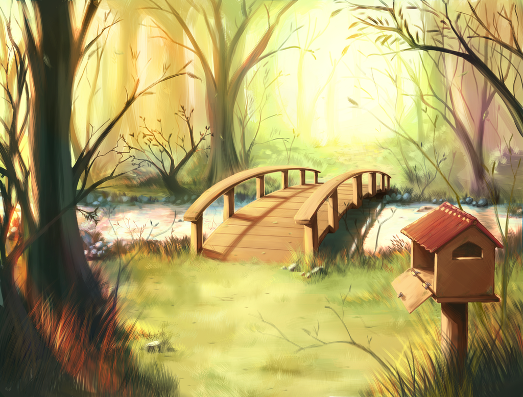 The Bridge of Wishes by RW09