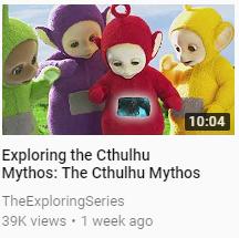 Cthulhu mythos by DeadKnight1