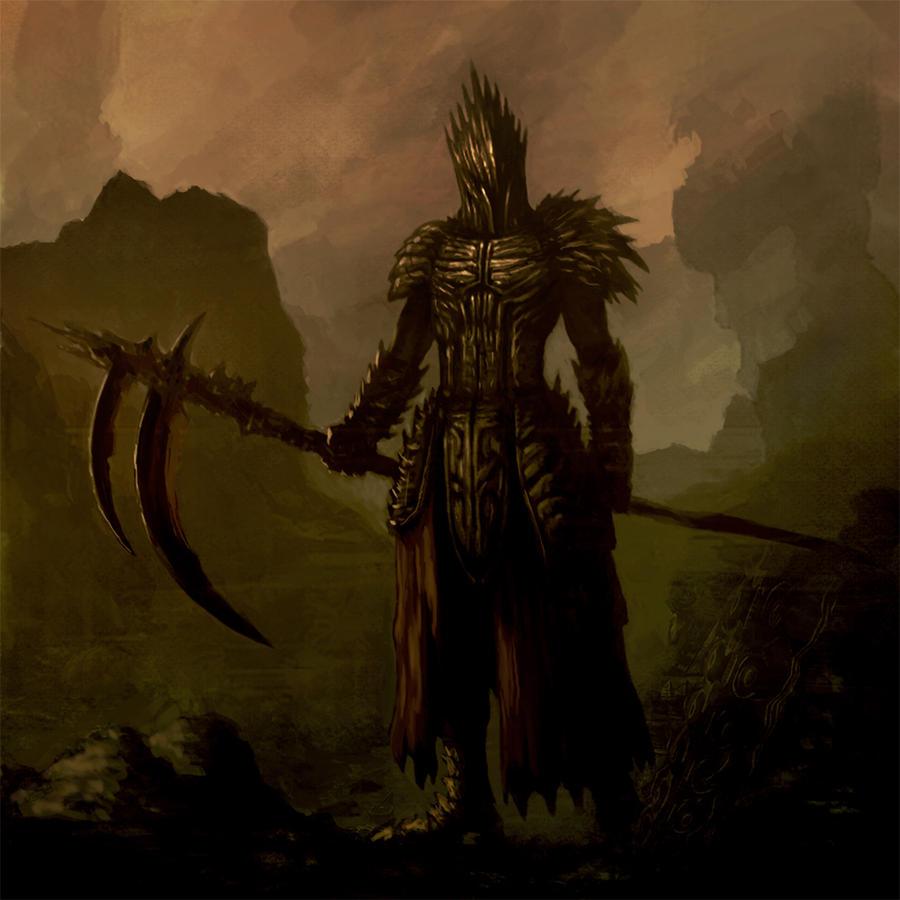 Dark warrior by basara1988