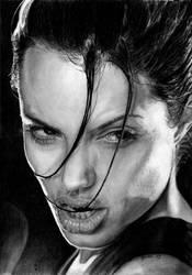 Lara Croft by marielleroyseth