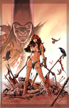 Red Sonja cover 17