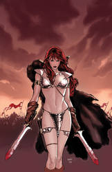Red Sonja 45 cover
