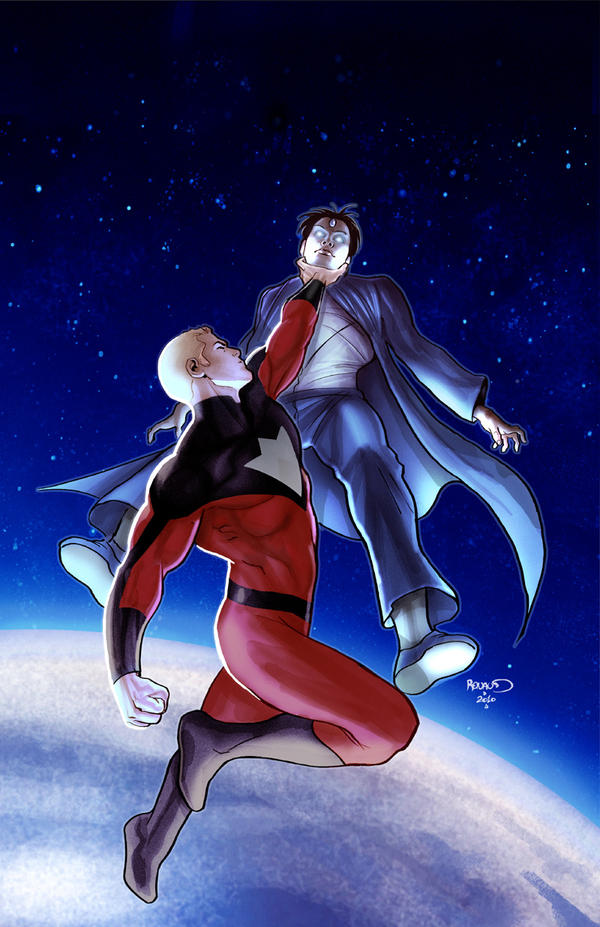 Irredeemable 18 cover by PaulRenaud