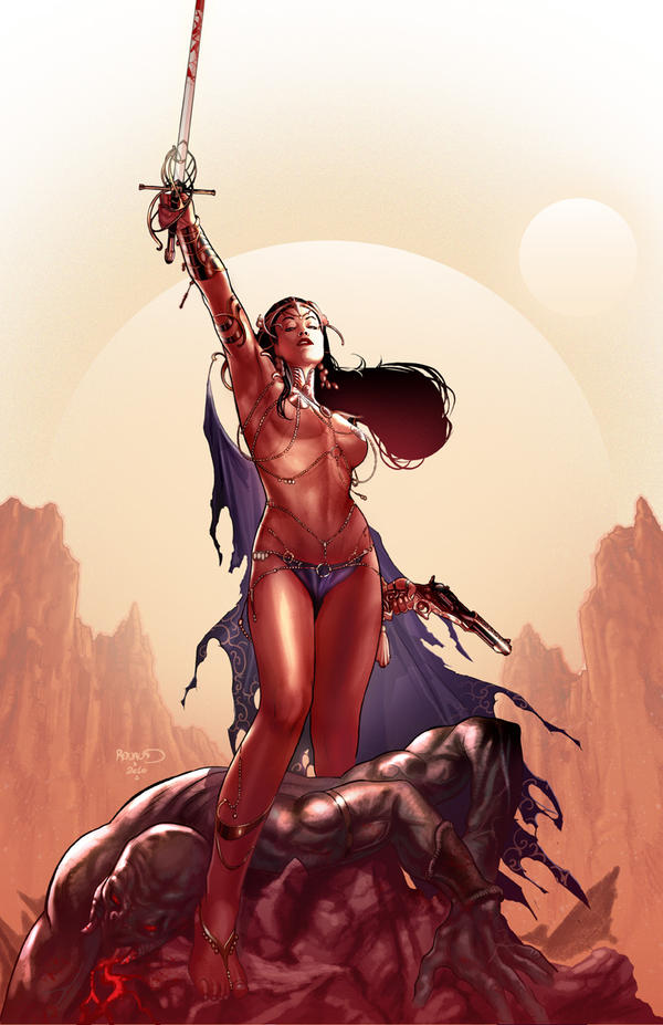 DEJAH THORIS 2 by PaulRenaud