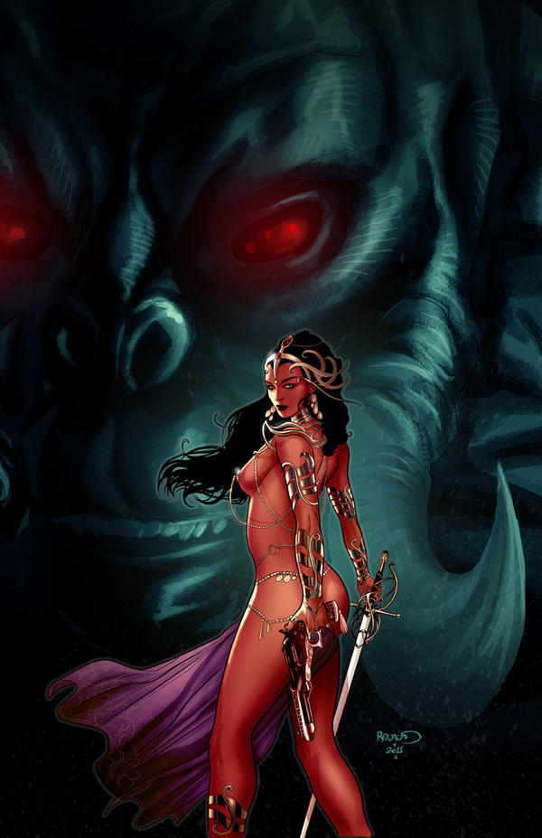 DEJAH THORIS 4 by PaulRenaud