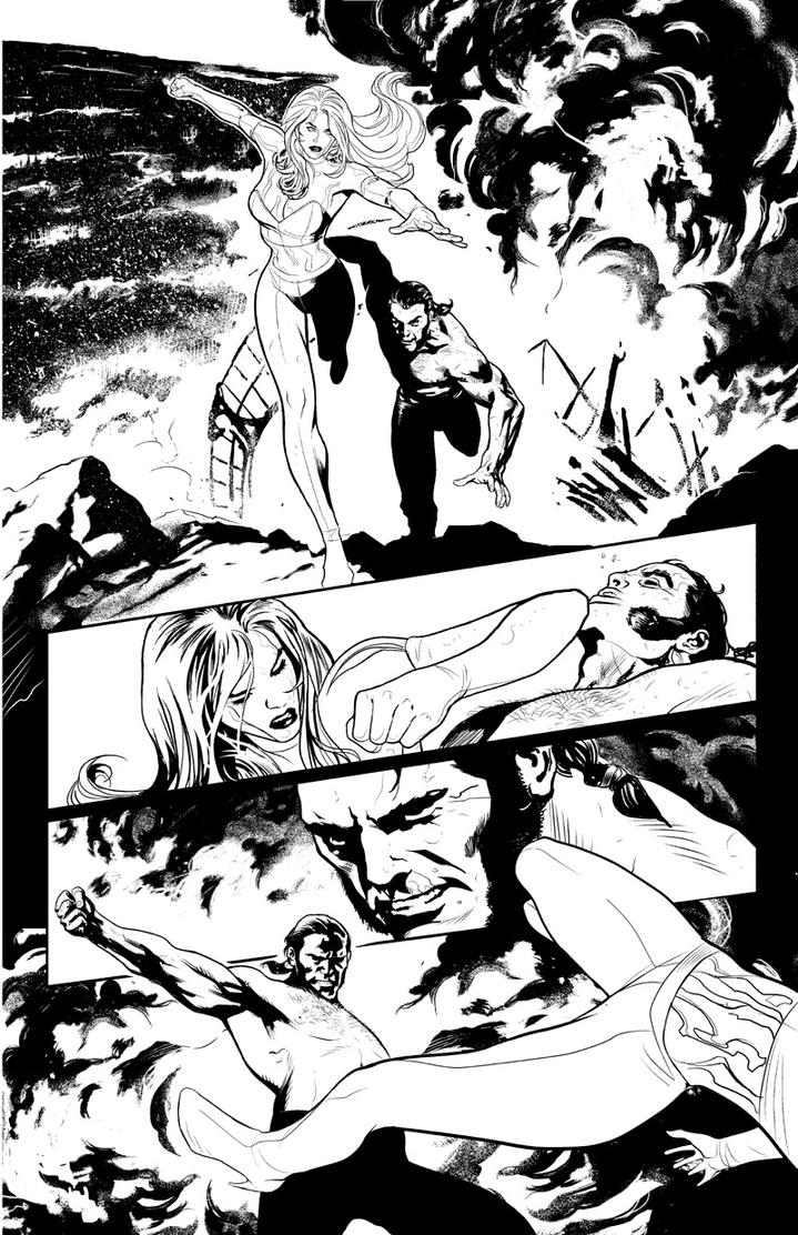 Uncanny X-Men page1 by PaulRenaud