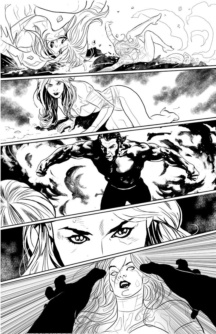 Uncanny X-Men page2 by PaulRenaud