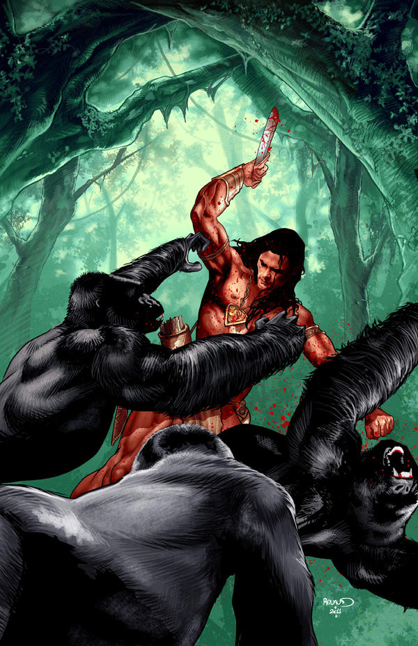 Paul Renaud,la jungle,Mars et des vampires ! dans Bio lord_of_the_jungle_2_by_paulrenaud-d4du7h5