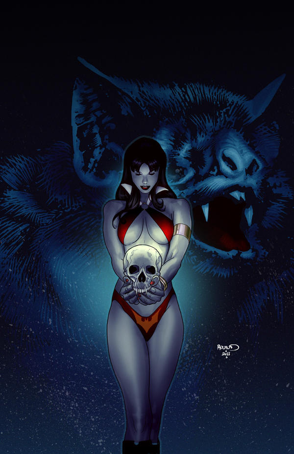 Vampirella 18 cover by PaulRenaud