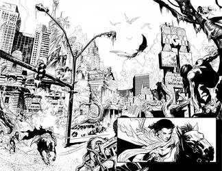 DEVOLUTION double page preview by PaulRenaud