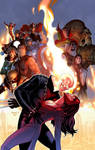 Uncanny Avengers Annual variant cover