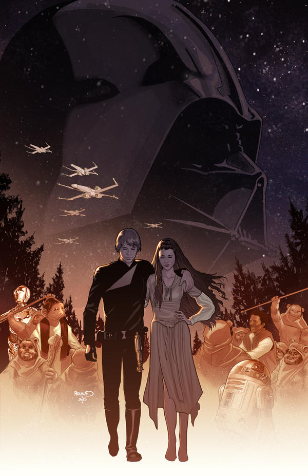 Star Wars Shattered Empire 1 by PaulRenaud