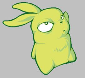 A 'slightly evil' bunny :O by N-Style42