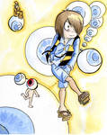 Gegege no kitaro and the eyes