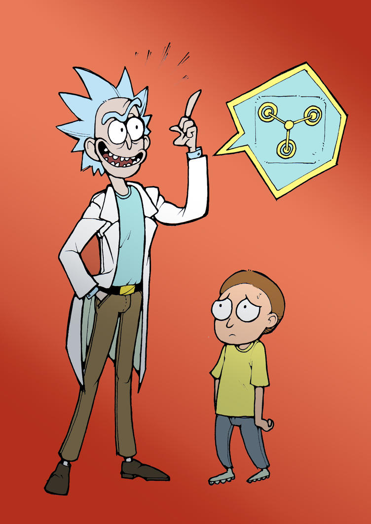 Rick And Morty By Mr Book Faced ...
