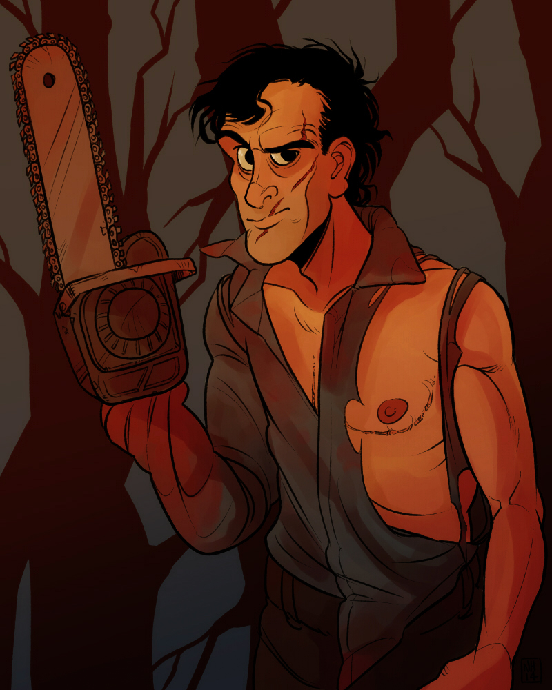 40 Pieces Of Creepy Evil Dead Artwork By Madizzlee On