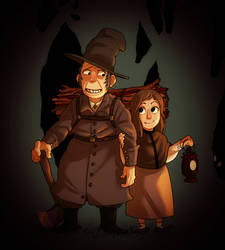 Over the Garden Wall by mr-book-faced