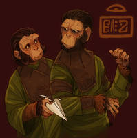 Zira and Cornelius by mr-book-faced