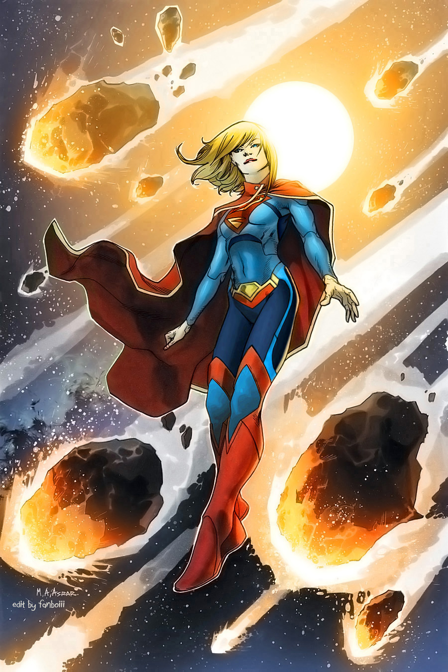Supergirl - DC New 52 Revised Costume Design by fanboiii ...
