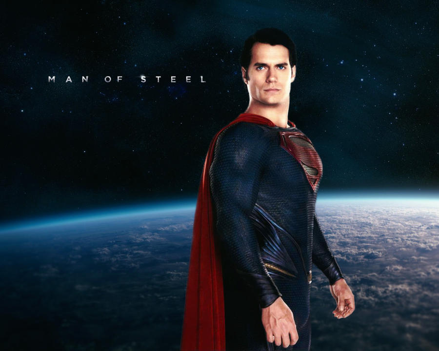 Man of Steel Wallpaper - Superman by fanboiii on DeviantArt