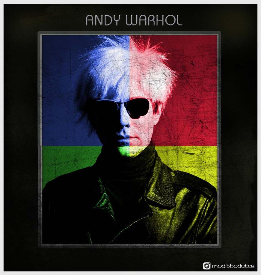 Andy Warhol Fan Art by MODECK8