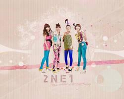 2NE1 Wallpaper by kairomon