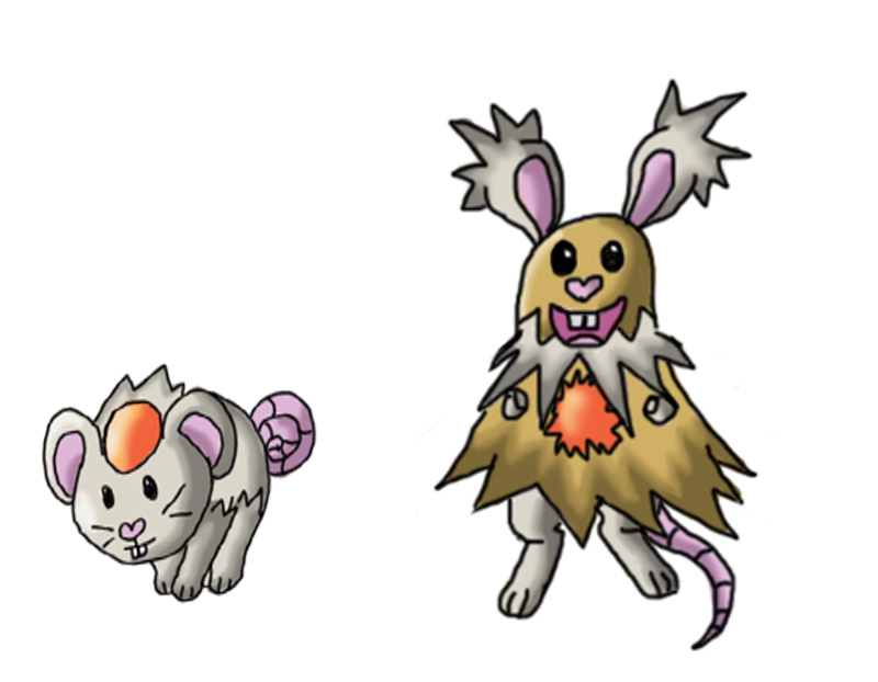 Fakemon Normal Rodent