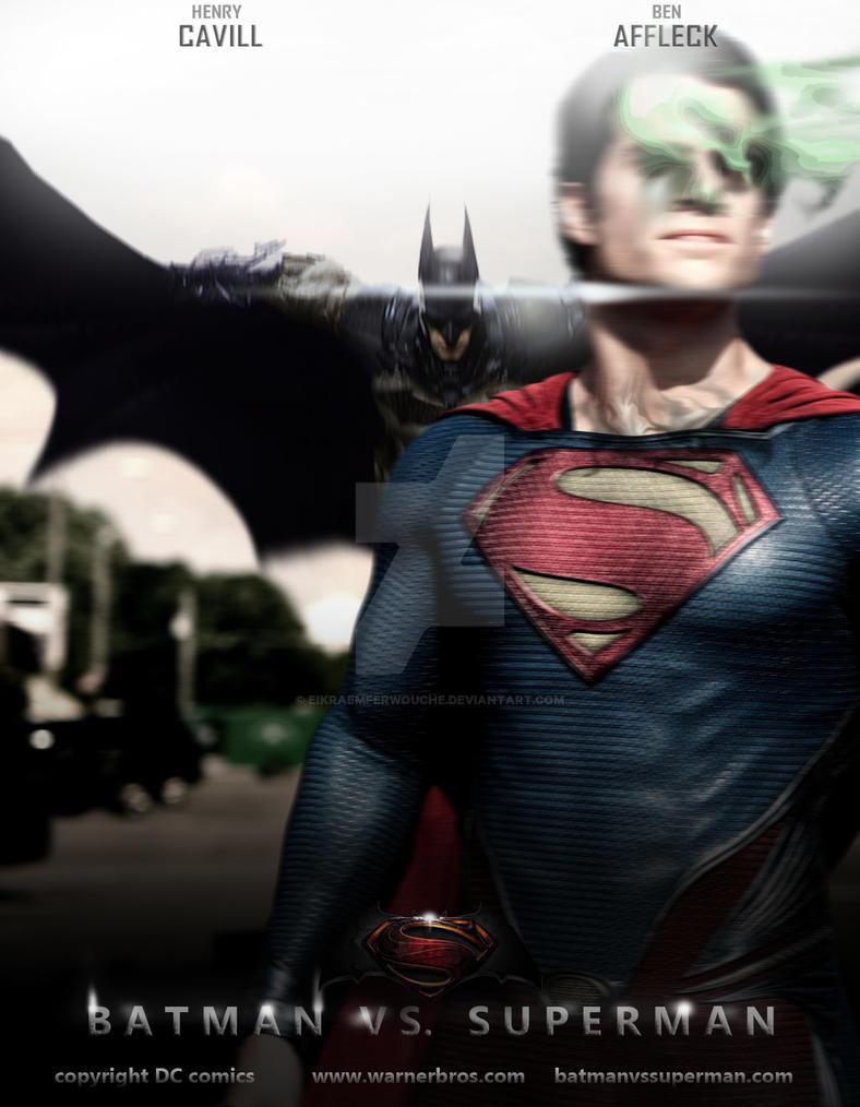 Batman Vs Superman Teaser Posterfan Made By EikraemFerwouche