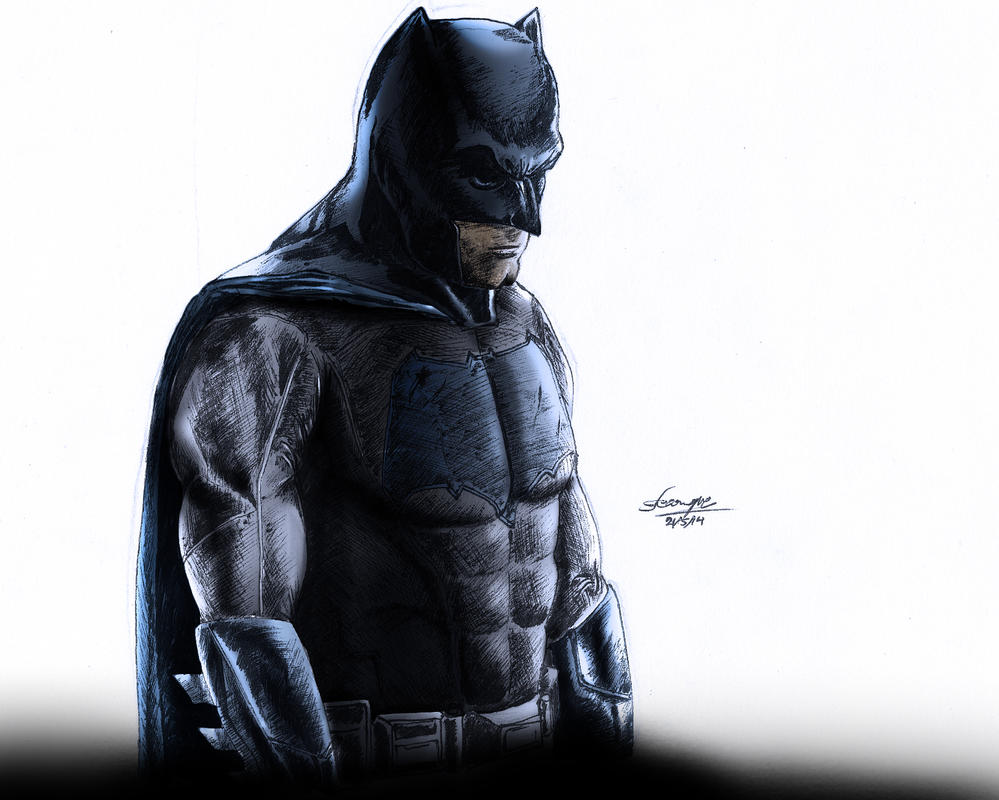Batman ben affleck by eikraemferwouche on deviantart - Ben affleck batman wallpaper ...