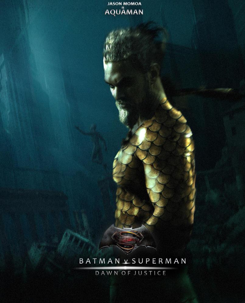 Batman Vs Superman Jason Momoa Aquaman Costume Concept Art