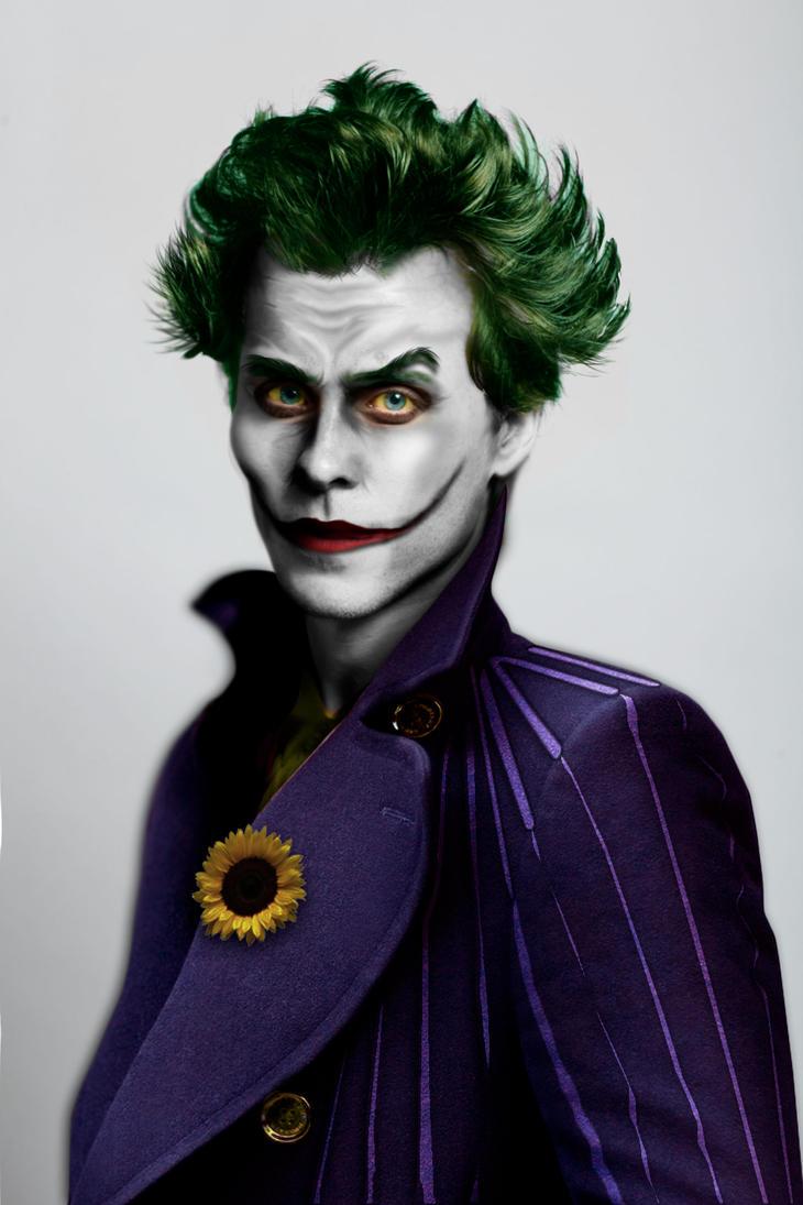 Jared Leto as The Joker by EikraemFerwouche