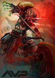 AVP Samurai Predator