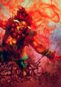 Gouki's wrath