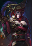Portrait: Captain Miss Fortune